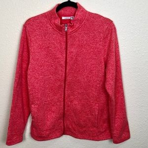 Croft & Barrow Zippered Cardigan Sweater